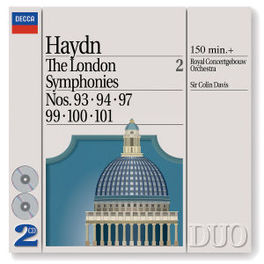LONDON SYMPHONIES 2 RCO AMSTERDAM DAVIS Audio CD, J. HAYDN, CD