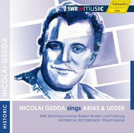 NICOLAI GEDDA SINGS ARIAS ERNEST BOUR B. BRITTEN, CD