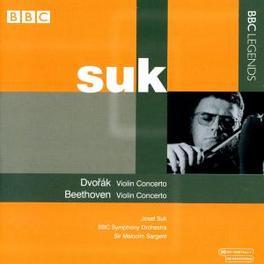 VIOLIN CONCERTO SUK/BBC SYMPHONY ORCHESTRA/SARGENT, M. Audio CD, DVORAK/BEETHOVEN, CD