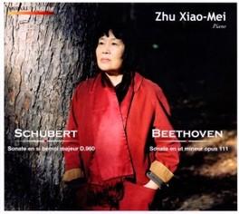 SONATE D960/SONATE OP.111 PIANO: ZHU XIAO-MEI SCHUBERT/BEETHOVEN, CD