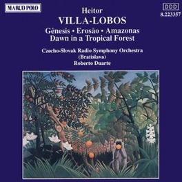 AMAZONAS CZECHO-SLOVAK RSO/DUARTE VILLA-LOBOS, H., CD