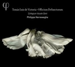 OFFICIUM DEFUNCTORUM COLLEGIUM VOCALE GENT/PHILIPPE HERREWEGHE T.L. DE VICTORIA, CD