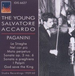 YOUNG SALVATORE ACCARDO 1 N. PAGANINI, CD