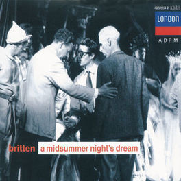 MIDSUMMER NIGHT'S DREAM DELLER/HARWOOD/WATTS/LSO/BRITTEN Audio CD, B. BRITTEN, CD