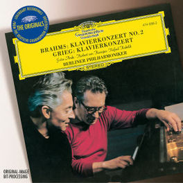 PIANO CONCERTO NO.2 W/ANDA, KARAJAN Audio CD, BRAHMS/GRIEG, CD