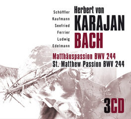 MATTHAUS PASSION HERBERT VON KARAJAN J.S. BACH, CD