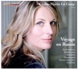VOYAGE EN RUSSIE CLAIRE MARIE LE GUAY RACHMANINOV/TCHAIKOVSKY/B, CD