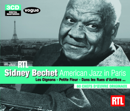 LES JAZZ RTL Audio CD, SIDNEY BECHET, CD