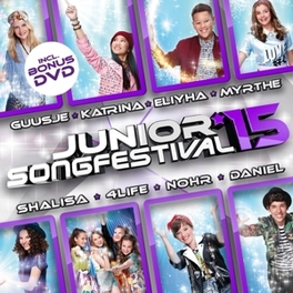 Junior Songfestival 2015 CD + DVD