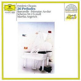 26 PRELUDES MARTHA ARGERICH Audio CD, F. CHOPIN, CD