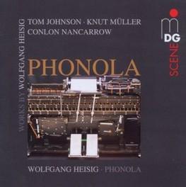 PHONOLA WOLFGANG HEISIG JOHNSON/MULLER/HEISIG/NAN, CD