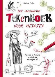 Deltas Het allerleukste tekenboek meisjes boek
