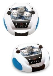 Bigben Interactive Big Ben, Portable Radio-CD Cats 2 (CD52CATS2)
