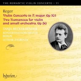 ROMANTIC VIOLIN CONCERTO KONZERTHAUSORCHESTER/L.ZAGROSEK M. REGER, CD