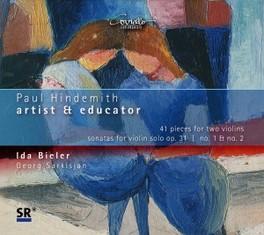 WORKS FOR VIOLIN:ARTIST & BIELER, IDA/SARKISJAN, GEORG P. HINDEMITH, CD