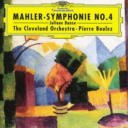 SYMPHONY NO.4 W/PIERRE BOULEZ Audio CD, G. MAHLER, CD