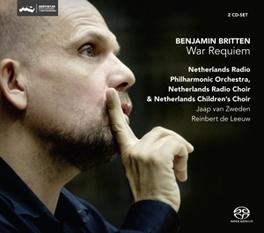 WAR REQUIEM NETHERLANDS RADIO P.O./JAAP VAN ZWEDEN B. BRITTEN, CD