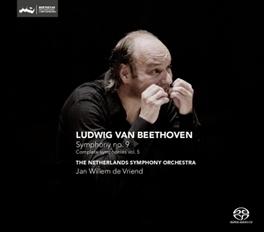 SYMPHONY NO.9 NETHERLANDS S.O./JAN WILLEM DE VRIEND L. VAN BEETHOVEN, CD