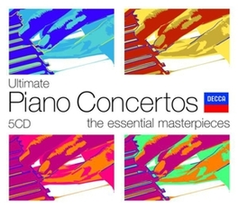 ULTIMATE PIANO CONCERTOS W/TCHAIKOVSKY/GRIEG/MOZART/CHOPIN/BEETHOVEN V/A, CD