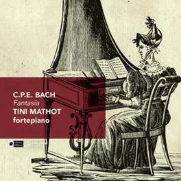 FANTASIA TINI MATHOT C.P.E. BACH, CD