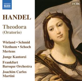 THEODORA (ORATORIO) WIELAND/SCHMID G.F. HANDEL, CD