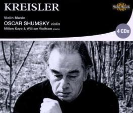 VIOLIN MUSIC OSCAR SHUMSKY Audio CD, F. KREISLER, CD