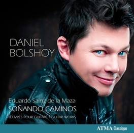 GUITAR WORKS DANIEL BOLSHOY E. SAINZ DE LA MASA, CD