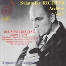 ARCHIVES VOL.17:BUDAPEST WORKS BY BEETHOVEN/SCHUBERT/SCHUMANN