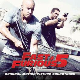 FAST & FURIOUS 5 - RIO.. .. HEIST OST, CD