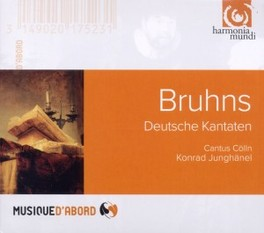 DEUTSCHE KANTATEN CANTUS COLLN/KONRAD JUNGHANEL N. BRUHNS, CD