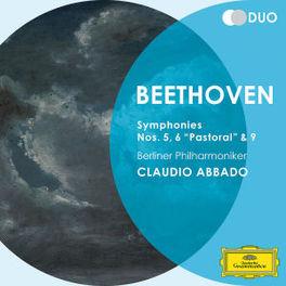 SYMPHONIES 5, 6 & 9 CLAUDIO ABBADO/BERLIN PHILHARMONIKER L. VAN BEETHOVEN, CD