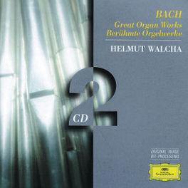 GREAT ORGAN WORKS HELMUT WALCHA Audio CD, J.S. BACH, CD