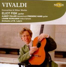 VIVALDI: CONCERTOS &.. .. OTHER WORKS Audio CD, ELIOT FISK, CD