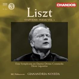 TONE POEMS VOL.5 BBC PHILHARMONIC//NOSEDA, G. Audio CD, F. LISZT, CD