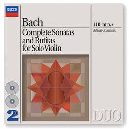COMPLETE SONATAS & PARTIT ARTHUR GRUMIAUX Audio CD, J.S. BACH, CD