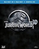 Jurassic world (3D), (Blu-Ray)