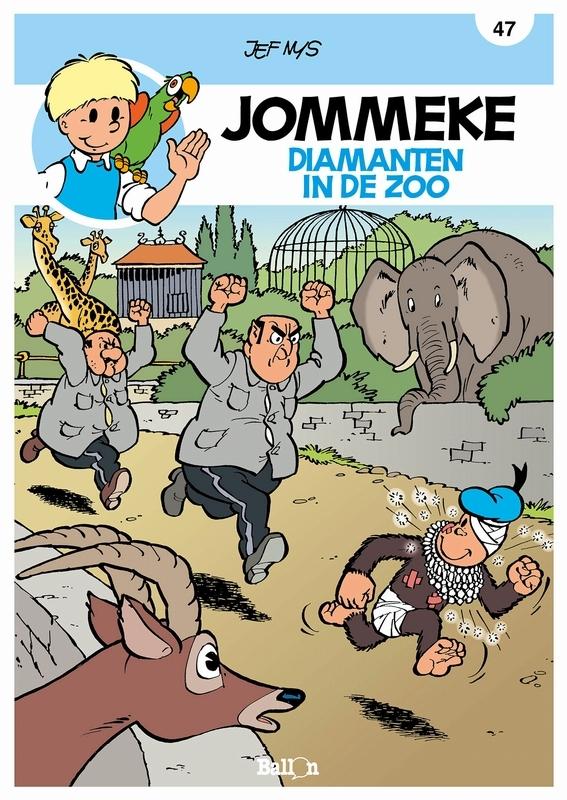 JOMMEKE 047. DIAMANTEN IN DE ZOO JOMMEKE, Nys, Jef, Paperback