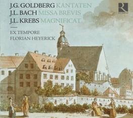 KANTATEN/MISSA BREVIS/MAG EX TEMPORE/FLORIAN HEYERICK GOLDBERG/BACH/KREBS, CD