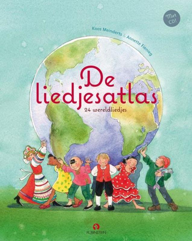 De liedjesatlas 24 wereldliedjes, Meinderts, Koos, onb.uitv.