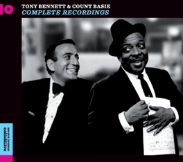 COMPLETE RECORDINGS.. .. 1958-1959 COUNT/TONY BENNETT BASIE, CD
