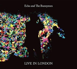 LIVE IN LONDON GATEFOLD ECHO AND THE BUNNYMEN, LP