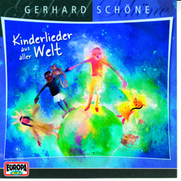 KINDERLIEDER AUS ALLER WE Audio CD, Gerhard Schöne, CD
