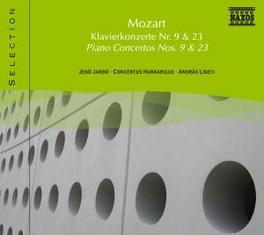 PIANO CONCERTOS NO.9 JENO JANDO W.A. MOZART, CD