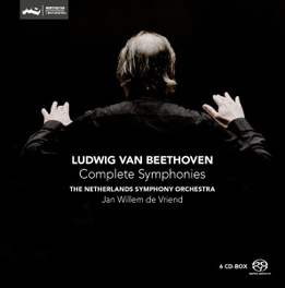 COMPLETE SYMPHONIES NETHERLANDS S.O./JAN WILLEM DE VRIEND/BOXSET/REISSUE L. VAN BEETHOVEN, CD