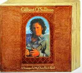 A STRANGER IN MY OWN BACK GILBERT O'SULLIVAN, CD
