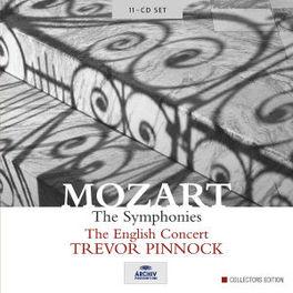 SYMPHONIES THE ENGLISH CONCERT/TREVOR PINNOCK Audio CD, W.A. MOZART, CD