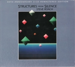 STRUCTURES FROM SILENCE Audio CD, STEVE ROACH, CD