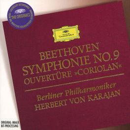 SYMPHONY NO.9/OUVERTURE -JANOWITZ/KMENTT/KARAJAN Audio CD, L. VAN BEETHOVEN, CD