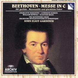 MESSE IN C W/JOHN ELIOT GARDINER L. VAN BEETHOVEN, CD