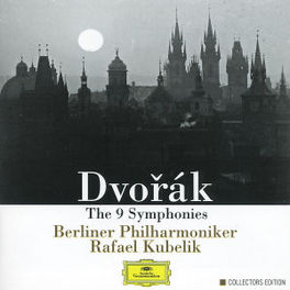 SYMPHONIES BERLIN PHIL.ORCH./BAYERISCHEN RUNDFUNKS S.O./KUBELIK Audio CD, A. DVORAK, CD